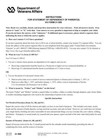 DD Form 137-6, Dependency Statement - Full Time Student 21 - 22 ...