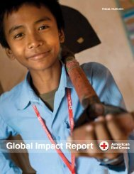 Global Impact Report (Fiscal Year 2011) - American Red Cross