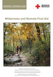 Wilderness and Remote First Aid - American Red Cross