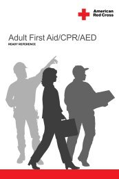 Adult First Aid/CPR/AED READY REFERENCE - American Red Cross