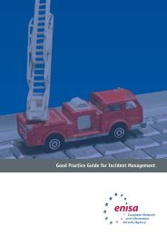 Good Practice Guide for Incident Management - enisa - Europa