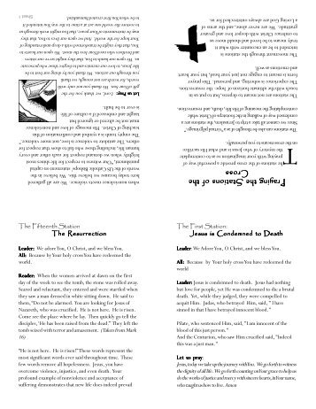 """""""Death Penalty"""" Stations of the Cross booklet"""
