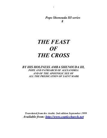 Feast Of Cross - Saint Mina Coptic Orthodox Church