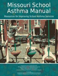 Missouri School Asthma Manual - Missouri Department of Health ...