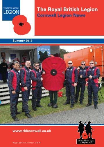 "July 2012 ""Service - not Self"" - The Royal British Legion"