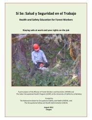 Sí Se: Salud y Seguridad en el Trabajo - OSHA