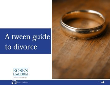 A tween guide to divorce - Cameron Law PLLC