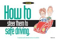 How To Steer Them To Safe Driving - PennDOT Driver and Vehicle ...