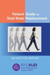 Patient Guide to Total Knee Replacement