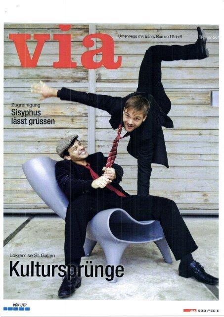 Via, Reisemagazin der SBB 2/2011 - Lokremise