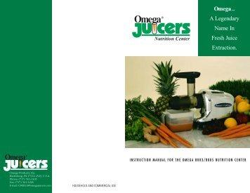 Omega - DiscountJuicers.com
