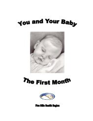 You and your baby #2 revised (Read-Only) - Five Hills Health Region