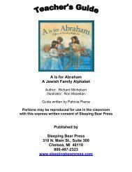 A is for Abraham: Teacher's Guide - Ingram Library Services