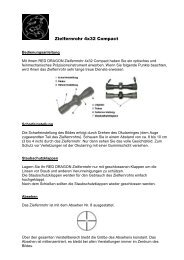 Zielfernrohr 4x32 Compact - Begadi