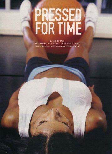 ~ SSEB V FUR TIME - Melissa Hall Fitness Living