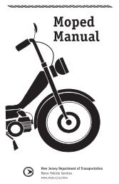 Moped Manual - State of New Jersey