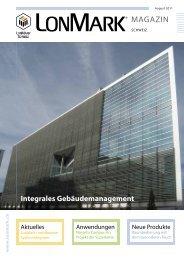 Aktuelle Ausgabe als PDF öffnen - LonMark Schweiz