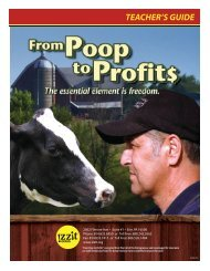 From Poop to Profits Teacher's Guide - Izzit.org
