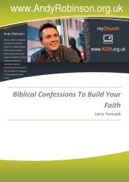 Biblical Confessions To Build Your Faith - The Radical Life