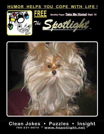 Sept. 10 Spotlight The - 4spotlight.net