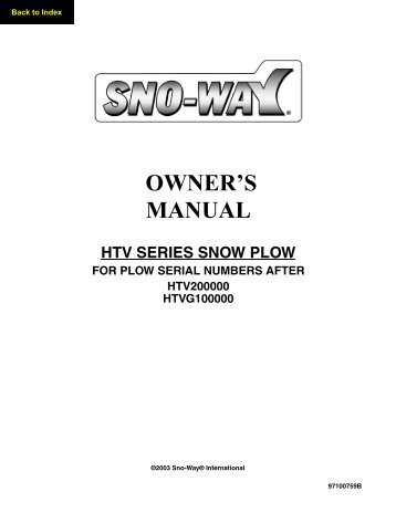 Snow Sno Way Plow Wiring Diagram. Sno-way 2 5 Series, Boss Snow Plow Western Plow Wiring Diagram Hydraulic Pump on