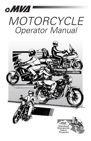 vr 005 05 11 bus maryland motor vehicle administration rh yumpu com Motorcycle Controls Diagram Oregon DMV Motorcycle Manual