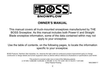 Rt3 straight blade snowplow assembly installation boss products rt3 power v blade wsmarthitch2 owners manual boss products sciox Images