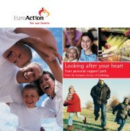 Looking after your heart - European Society of Cardiology