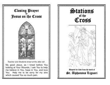 printable Stations of the Cross - St. John the Baptist Roman Catholic ...