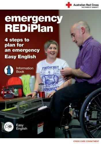 easy English booklet - Australian Red Cross