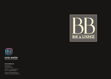 BB BAR & L - Hotel Murten