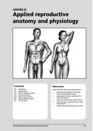Applied Reproductive Anatomy And Physiology