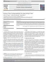Society of Hair Testing guidelines for drug testing in hair - X-Pertise ...
