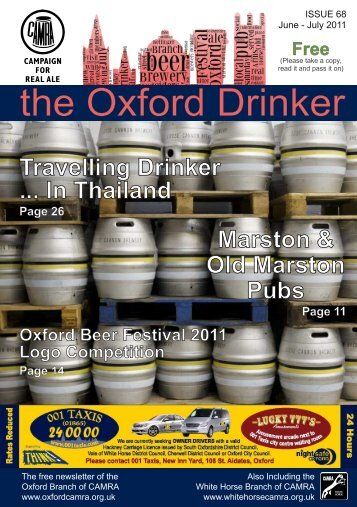 Oxford Drinker Issue 68 - June/July 2011 - Oxford CAMRA