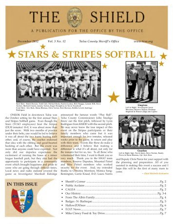 Stars Stripes Softball Tulsa County Sheriff S Office