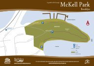 A guided walk through McKell Park, Brooklyn - Hornsby Shire Council