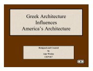 Greek and Roman Architectural Influences in America - Scholar