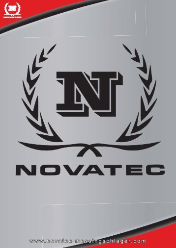 Novatec Products 2010 - powered by Messingschlager