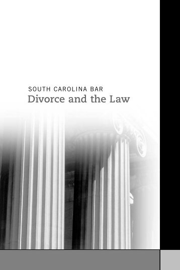 Divorce and the Law - South Carolina Bar