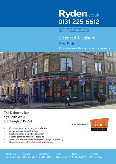 Download brochure - Commercial property search - Ryden
