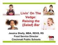 Raising the {Salad} Bar - School Nutrition Association