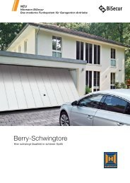 Katalog Berry Schwingtore - Hörmann KG