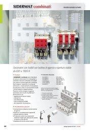SIDERMAT combinati - Socomec
