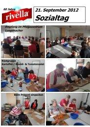 21. September 2012 Sozialtag 60 Jahre - Im Luegenacher