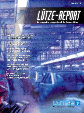 UNE SOLUTION SOUPLE DANS L - Friedrich Lütze GmbH