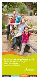 Sommerferienplaner 2013 - Simmerath