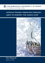 african transit migration through libya to europe - The American ...