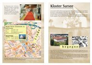 begegnen Kloster Sursee - Pfarrei Sursee