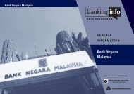 Download the booklet on Bank Negara Malaysia - Banking Info