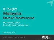 Malaysia market insights - International Enterprise Singapore